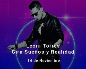 Leoni Torres en Zaragoza