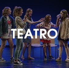 Teatro en la Escuela del teatro de las Esquinas