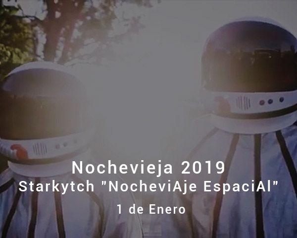 Nochevieja 2019 en zaragoza con Starkytch Pinchadiscos