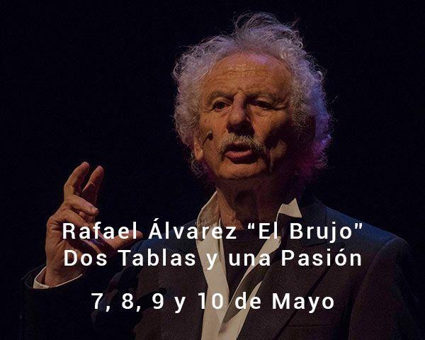 Rafael Álvarez El Brujo en el Teatro de las Esquinas