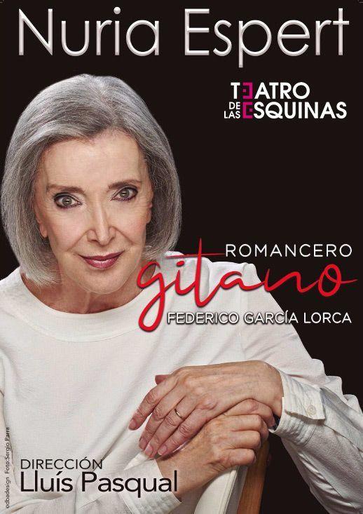 """""""Romancero Gitano"""" con Nuria Espert Teatro de las Esquinas"""