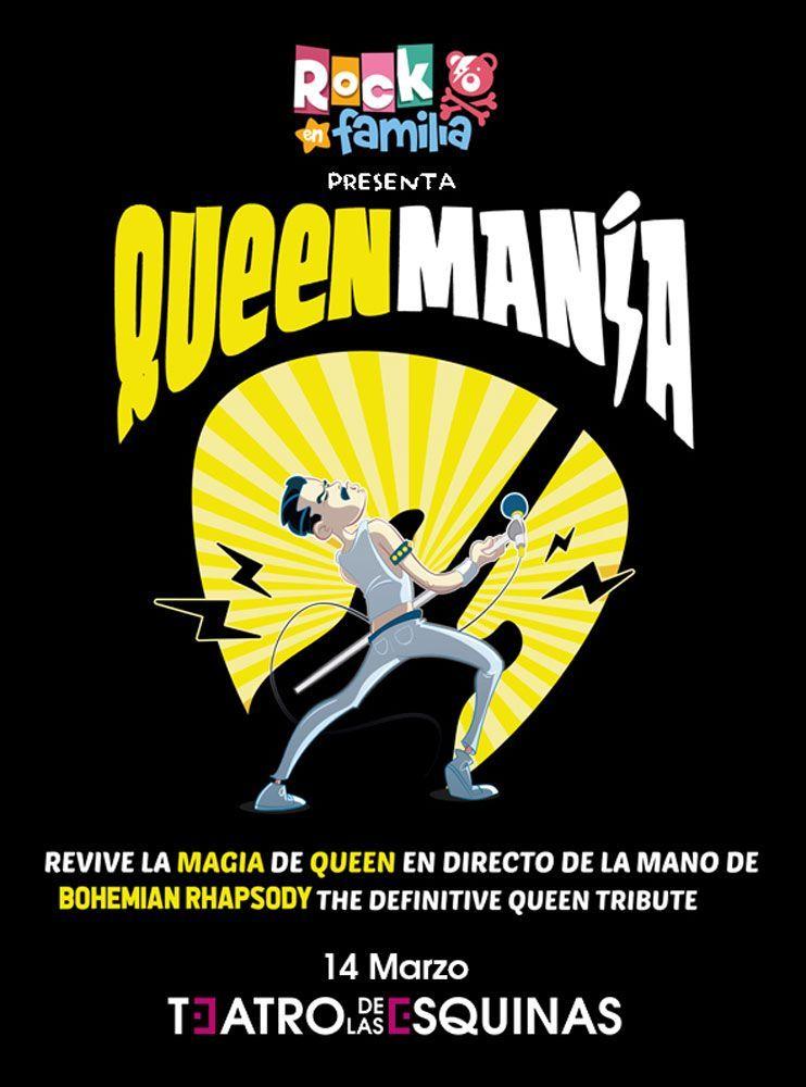 Rock en Familia: Queenmanía Teatro de las Esquinas