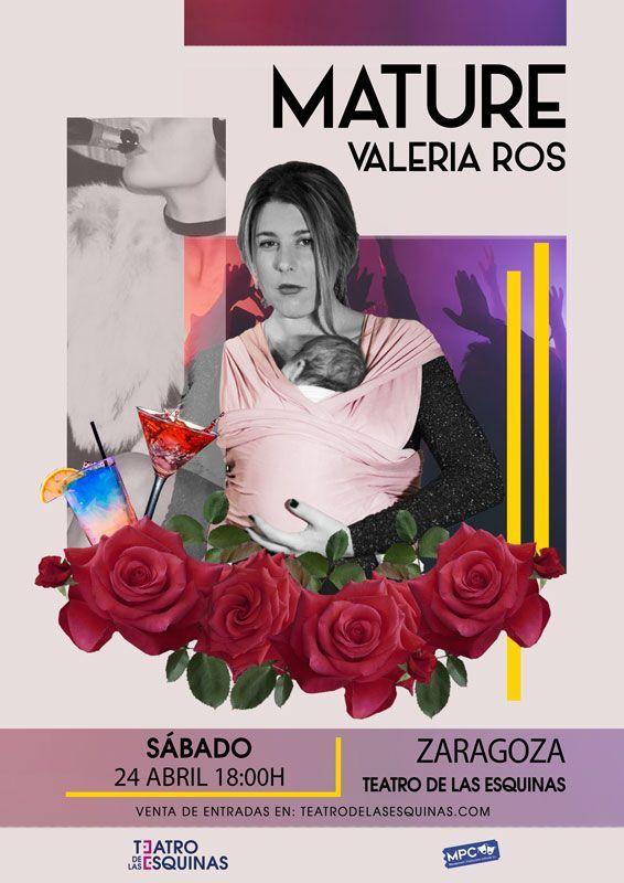 """Valeria Ros """"Mature"""" Teatro de las Esquinas"""