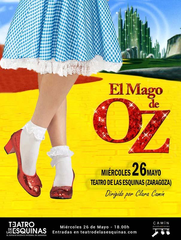"""""""El Mago de Oz"""" Camín Producciones Teatro de las Esquinas"""