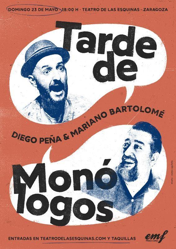 Tarde de Monólogos en Zaragoza