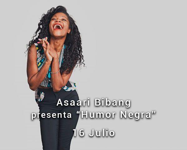 Assari Bibang en el Teatro de las Esquinas