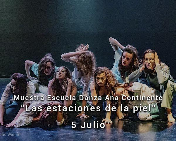Muestra escuela de danza Ana Continente