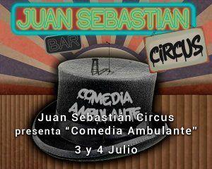 Juan Sebastian Circus en el Teatro de las Esquinas