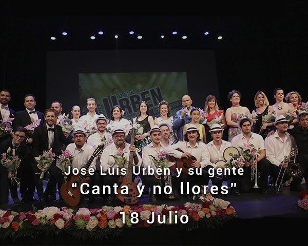 José Luis Urbén y su gente en Zaragoza