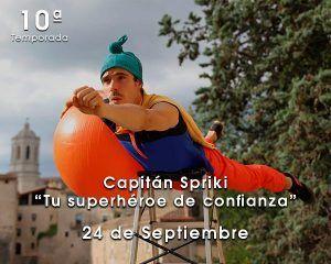 Capitán Sproki con peques en Zaragoza