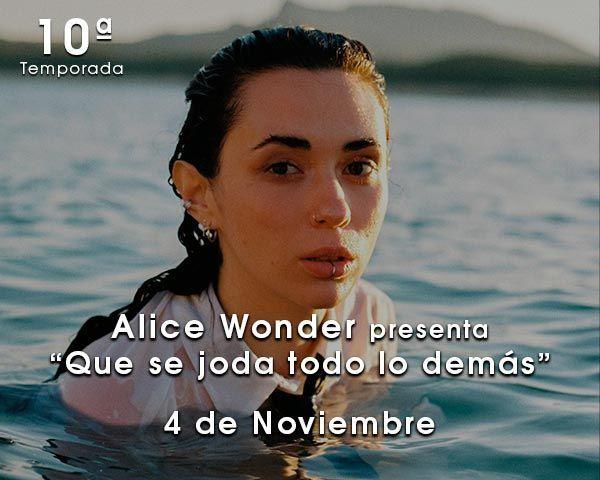 Alice Wonder en Zaragoza