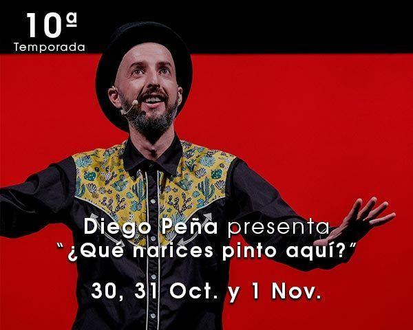 Diego Peña en el Teatro de las Esquinas