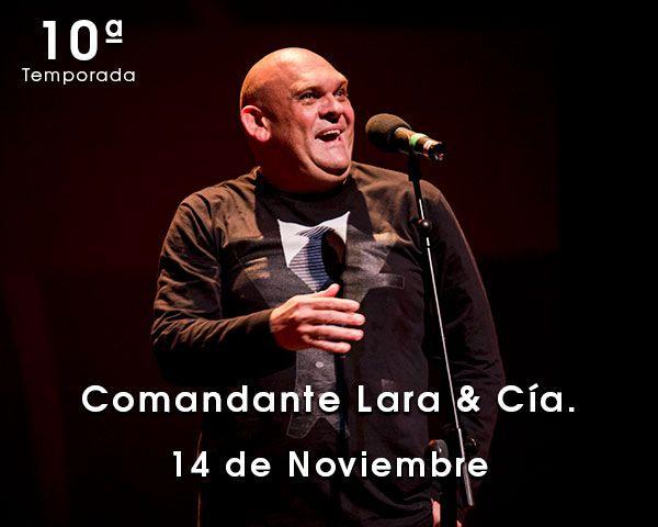 Comandante Lara y cia en Zaragoza