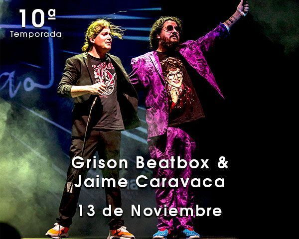 Grison Beatbox & Jaime Caravaca en el Teatro de las Esquinas