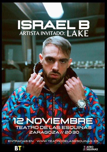Israel B en el Teatro de las Esquinas