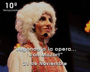 Jugando a la opera con Mozart en Zaragoza