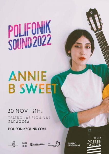 Annie B Sweet presentación Polifonik Sound 2022