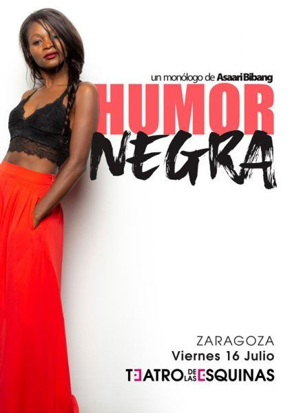 Assari Bibang presenta Humor Negra en el Teatro de las Esquinas