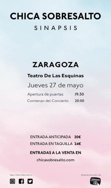 Chica Sobresalto Maialen en Zaragoza
