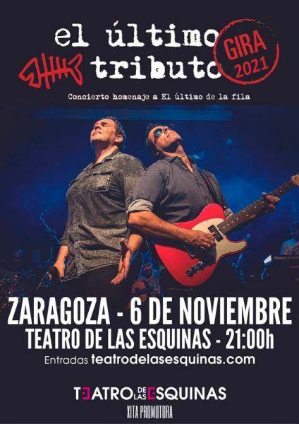 El último tributo en Zaragoza