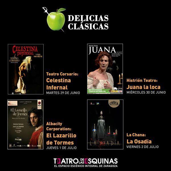 Festival de Teatro Clásico Junio de 2021