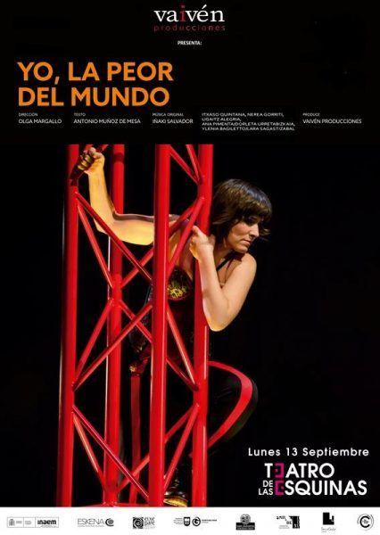 Yo, la peor del mundo Festival Teatro Rayuela 2021
