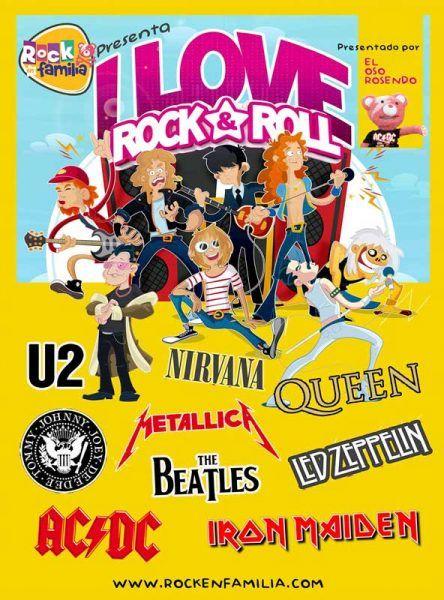 Rock en Familia en Zaragoza en el Teatro de las Esquinas
