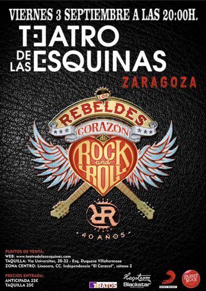 Los Rebeldes en concierto en Zaragoza