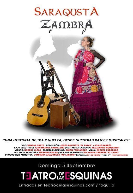 Saraqusta Zambra en el Teatro de las Esquinas