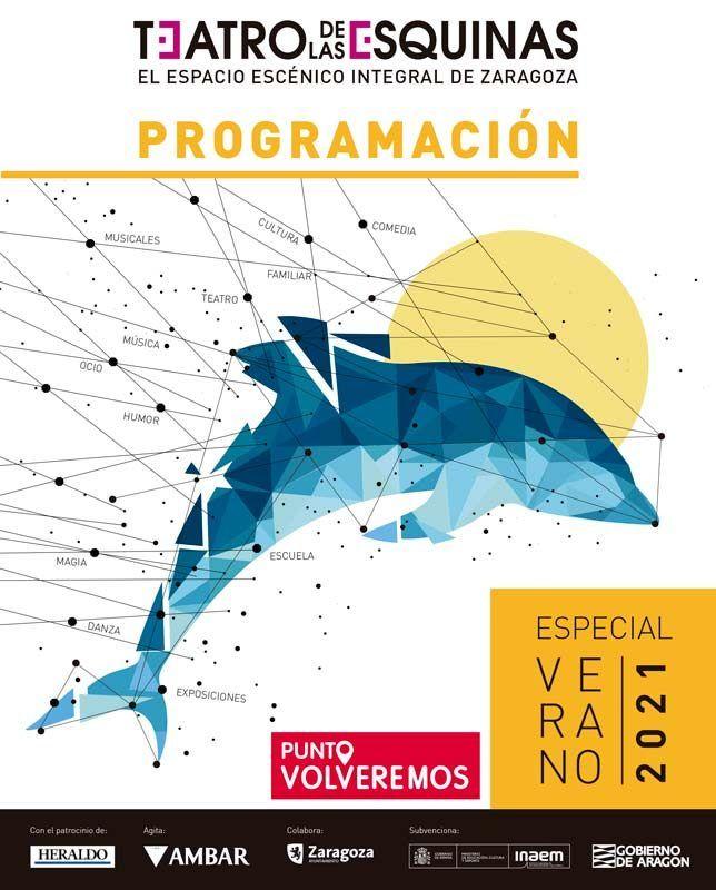 Programación verano Teatro y Conciertos en Zaragoza